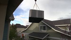 no access tub spa delivery crane lift to backyard youtube