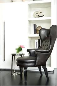 Small Leather Chair And Ottoman Small Leather Wingback Chair With Ottoman Design Ideas 13 In Johns
