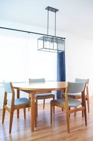 dining room table lighting installing a new dining room light fixuture lumber loves lace