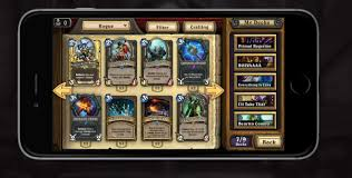 hearthstone android hearthstone now available on smartphones ios and android