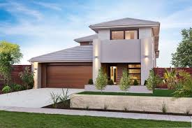 Facades Double Storey House Plans Home Designs Custom Home - Modern home designs sydney