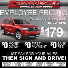 dodge durango lease employee lease pricing on the 2013 dodge durango crew