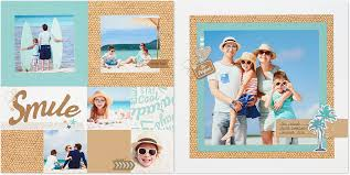 Vacation Photo Album Scrapbook Vacation