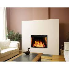 elite flame 26 inch curved electric fireplace insert