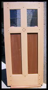 heart of oak workshop authentic craftsman u0026 mission style door