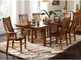 oak trestle dining table a america dining room laurelhurst trestle table mission oak lau