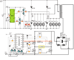 wiring diagram circuit diagram of 1000w pure sine wave inverter