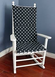black and white rocking chair cushions home remodel ideas 3150