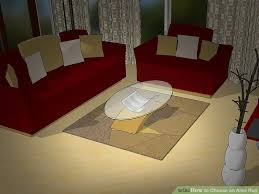 choosing an area rug how to choose an area rug 11 steps with pictures wikihow