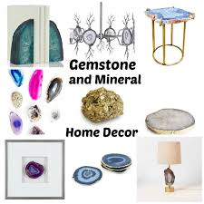 mineral home decor home decor