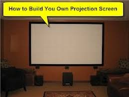 home theater paint diy projector screens part i paint your own projection screen