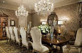 Crystal Chandelier For Dining Room by Dining Room Lighting Trends With Double Crystal Chandelier
