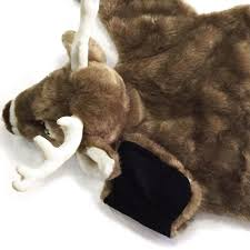 sunland home decor coupon 36in white tailed deer plush stuffed animal skin rug