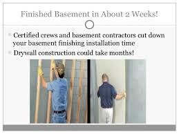 Finished Basement Contractors by Owens Corning Basement Finishing U0026 Remodeling