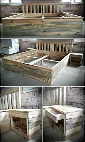 Pallet Bed Furniture Ideas Reshaping Ideas For Used Pallets Wood Pallet Ideas
