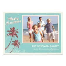 beach christmas cards invitations greeting u0026 photo cards zazzle
