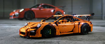 orange porsche 911 gt3 rs brickfinder win a lego technic porsche 911 gt3