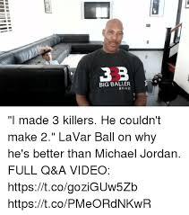 Michael Jordan Shoe Meme - 0 big baller brand 8 i made 3 killers he couldn t make 2 lavar ball