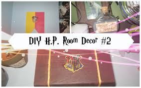 Room Decore by Diy Easy Harry Potter Room Decor 2 Youtube