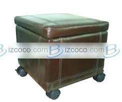 storage ottoman on wheels cool ottoman with casters strand 4 piece cocktail ottoman with