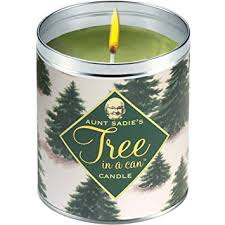 s tree in a can pine scented candle