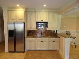 White Kitchen Cabinets With Granite Countertops Dazzling Basement Kitchen Design Ideas Presenting White Kitchen