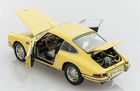 cmc porsche 901 911 1964 yellow racing heroes