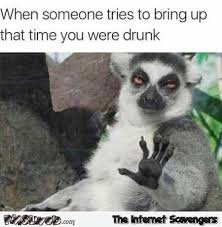 Tuesday Memes Funny - when someone tries to bring up that time you were drunk funny meme