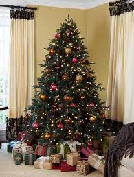 charming ideas 10 artificial tree pre lit trees the home