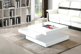 glossy white coffee table white coffee table yuinoukin com