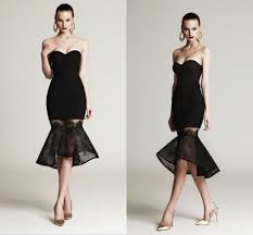 aliexpress com buy black short cocktail dress sweetheart off the