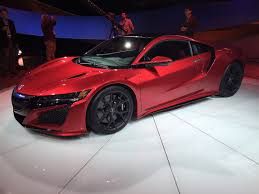 acura supercar finally revived the 2016 acura nsx with hybrid powertrain