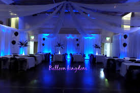 Wall Decoration With Balloons by Venue Draping Balloon And Party Kingdom