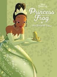princess frog story tiana disney books