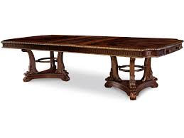 double pedestal dining room table art furniture dining room double pedestal dining table 245221 1707