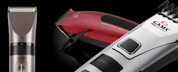 hair clippers and professional man trimmers gama