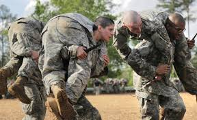 women fight their way through army u0027s grueling ranger wunc