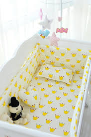 Baby Cot Bedding Sets Promotion 6pcs Baby Cot Bedding Set Baby Cradle Crib Cot Bedding