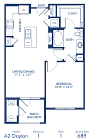 Blueprint Floor Plan by Studio 1 U0026 2 Bedroom Apartments In Lone Tree Co Camden Lincoln