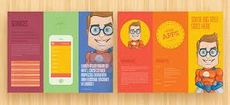 tri fold brochure template indesign free download renanlopes me
