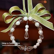 ceecee s creations ribbon ornaments 1
