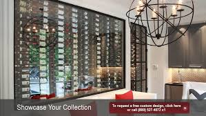 custom glass enclosed wine cellars iwa accessories