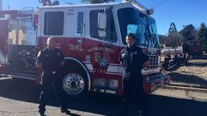 Wildfire Near Julian Ca by Cal Fire Staffs New Paramedic Engine In Julian Backcountry Nbc 7
