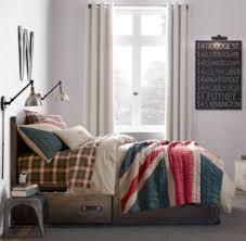 Bedroom Design Union Jack Room by Vintage Washed Union Jack Quilt
