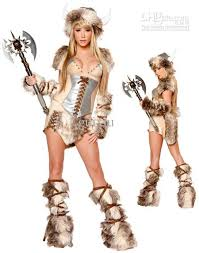 Sexu Halloween Costumes Halloween Costumes Women Viking Deluxe Costume