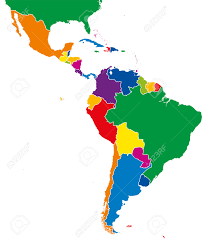 Countries Map Map Of South America With Countries And Capitals Map Of South