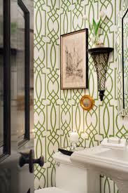 Wallpaper For Bathrooms Ideas by Best 25 Trellis Wallpaper Ideas On Pinterest Half Bathroom
