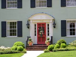 front door colors red brick house cottage exterior photos hgtv