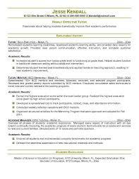 tutor resume sample haadyaooverbayresort com