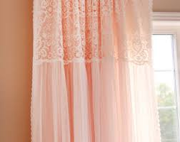 Shabby Chic Curtains Cottage Shabby Chic Curtain Etsy
